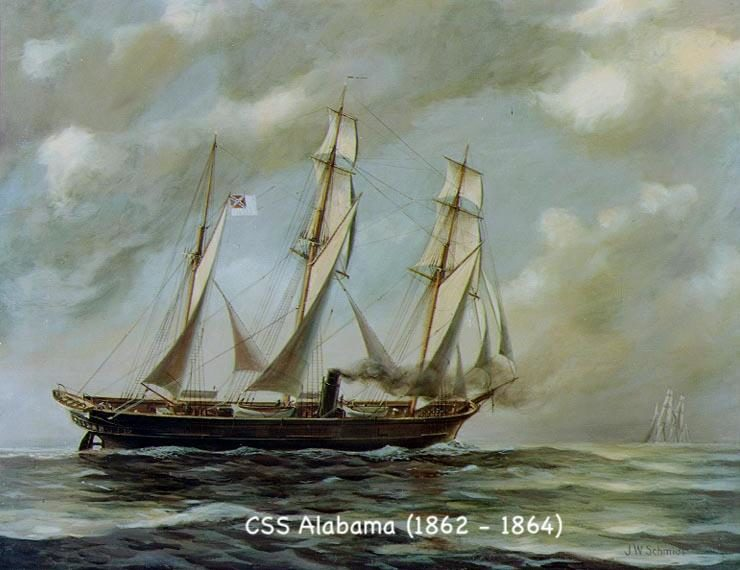 The Delivery Voyage of the Alabama