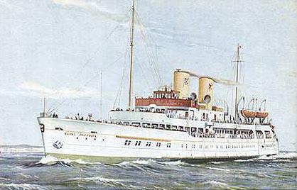 The Royal Daffodil at Dunkirk